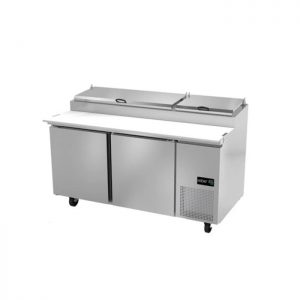 Mesa fría de preparación de pizzas ASBER APTP-67