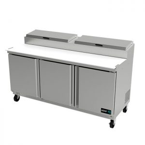 Mesa fría de preparación de pizzas ASBER APTP-72