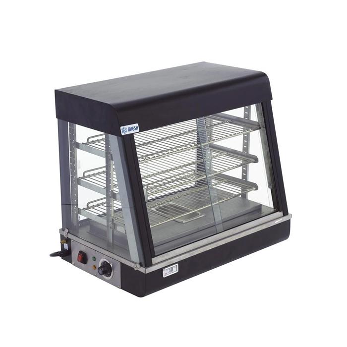 Vitrina caliente sobre mostrador MIGSA BN 600 R